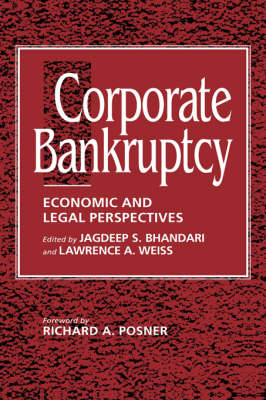 Corporate Bankruptcy: Economic and Legal Perspectives (Hardback)