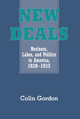 New Deals: Business, Labor, and Politics in America, 1920-1935 (Hardback)