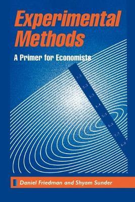 Experimental Methods: A Primer for Economists (Paperback)