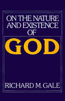 On the Nature and Existence of God - Cambridge Philosophy Classics (Paperback)