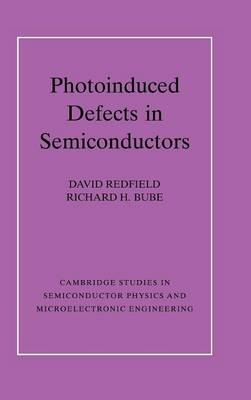 Photo-induced Defects in Semiconductors - Cambridge Studies in Semiconductor Physics and Microelectronic Engineering 4 (Hardback)