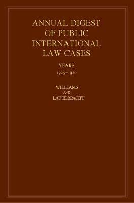 International Law Reports - International Law Reports Set 184 Volume Hardback Set Volume 3 (Hardback)