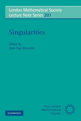 Singularities - London Mathematical Society Lecture Note Series 201 (Paperback)