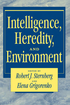 Intelligence, Heredity and Environment (Paperback)