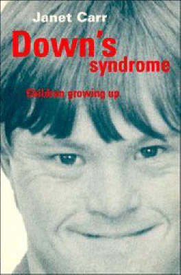Down's Syndrome: Children Growing Up (Paperback)