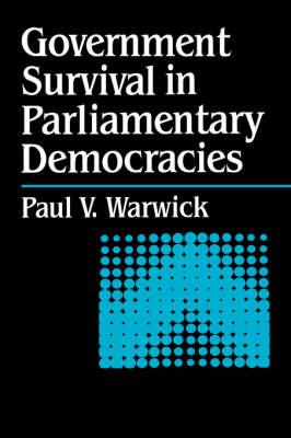 Government Survival in Parliamentary Democracies (Hardback)