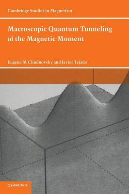 Macroscopic Quantum Tunneling of the Magnetic Moment - Cambridge Studies in Magnetism 4 (Hardback)