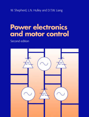 Power Electronics and Motor Control (Paperback)