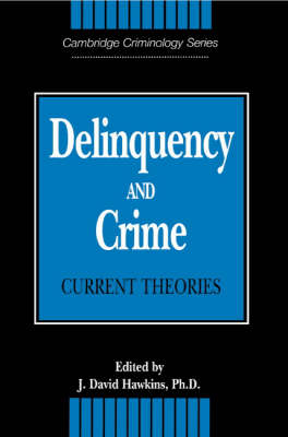 Cambridge Studies in Criminology: Delinquency and Crime: Current Theories (Paperback)