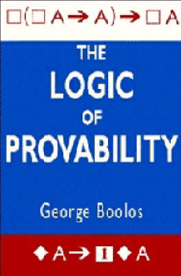 The Logic of Provability (Paperback)