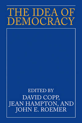 The Idea of Democracy (Paperback)