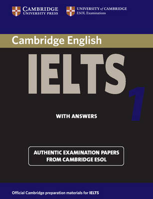 Cambridge Practice Tests for IELTS 1 Self-study Student's Book - IELTS Practice Tests (Paperback)