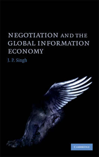 Negotiation and the Global Information Economy (Hardback)
