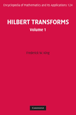 Hilbert Transforms 2 Volume Hardback Set - Encyclopedia of Mathematics and Its Applications