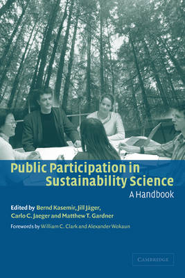 Public Participation in Sustainability Science: A Handbook (Paperback)