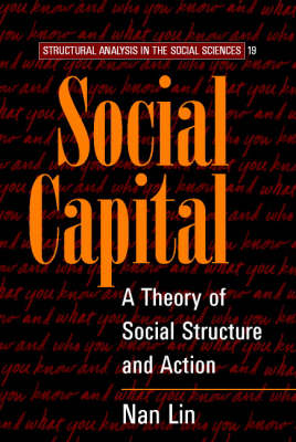 Social Capital: A Theory of Social Structure and Action - Structural Analysis in the Social Sciences 19 (Paperback)