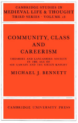 Community, Class and Careers - Cambridge Studies in Medieval Life and Thought: Third Series (Paperback)