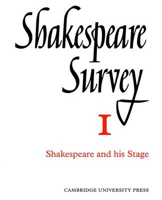 Shakespeare Survey Paperback Set: The Poems and Music Volume 15 - Shakespeare Survey (Paperback)