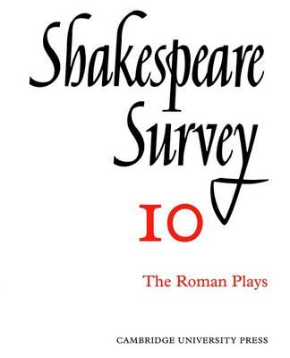 Shakespeare Survey - Shakespeare Survey 17 (Paperback)