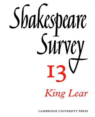 Shakespeare Survey - Shakespeare Survey Volume 13 (Paperback)
