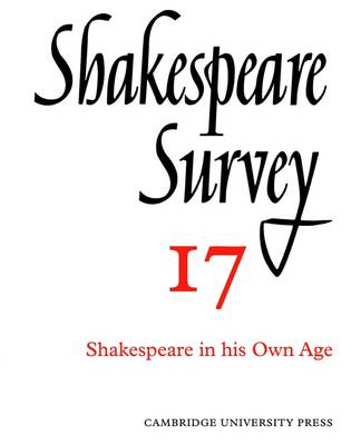 Shakespeare Survey - Shakespeare Survey Paperback Set 17 (Paperback)