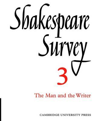 Shakespeare Survey: Shakespeare Survey Shakespeare and His Stage v.1 - Shakespeare Survey 17 (Paperback)