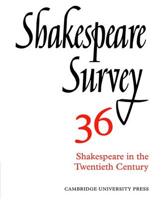 Shakespeare Survey - Shakespeare Survey Paperback Set 34 (Paperback)