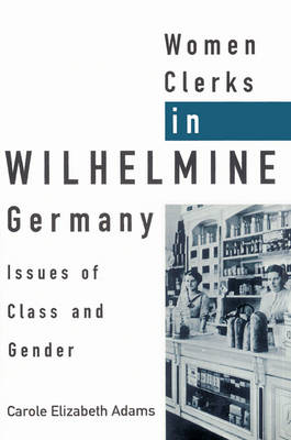 Women Clerks in Wilhelmine Germany: Issues of Class and Gender (Paperback)