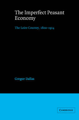 The Imperfect Peasant Economy: The Loire Country, 1800-1914 (Paperback)