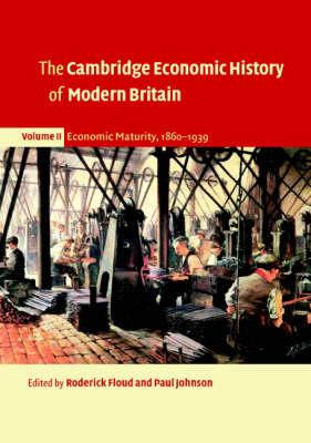 The Cambridge Economic History of Modern Britain - The Cambridge Economic History of Modern Britain 3 Volume Paperback Set (Paperback)