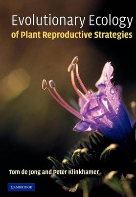Evolutionary Ecology of Plant Reproductive Strategies (Paperback)