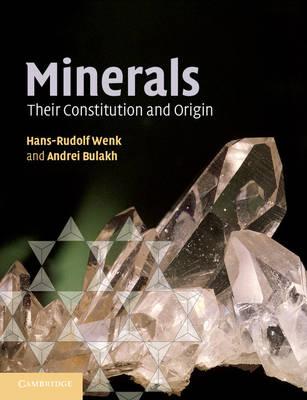 Minerals: Their Constitution and Origin (Paperback)