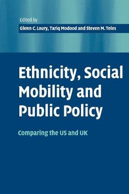 Ethnicity, Social Mobility, and Public Policy: Comparing the USA and UK (Paperback)