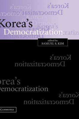 Korea's Democratization (Paperback)