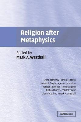 Religion after Metaphysics (Paperback)