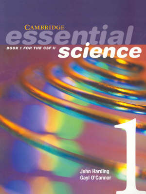 Cambridge Essential Science Book 1 with CD-Rom: Bk. 1: Book 1 for the CSF II