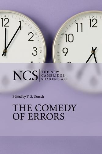 The Comedy of Errors - The New Cambridge Shakespeare (Paperback)