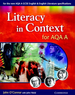 Literacy in Context for AQA A - Literacy in Context (Paperback)