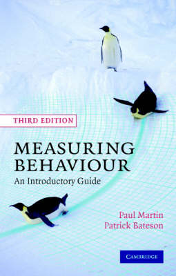 Measuring Behaviour: An Introductory Guide (Paperback)