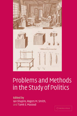 Problems and Methods in the Study of Politics (Paperback)