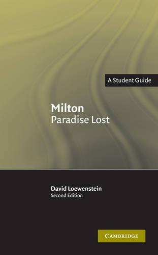 Landmarks of World Literature (New): Milton: Paradise Lost (Paperback)