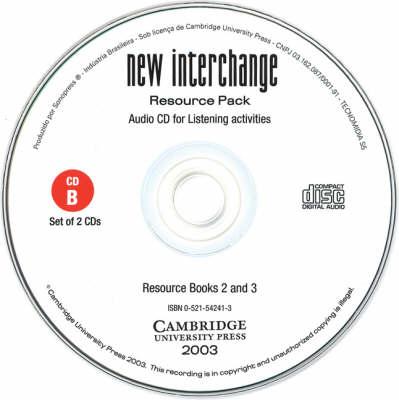 New Interchange Resource Pack Audio CDs (CD-Audio)