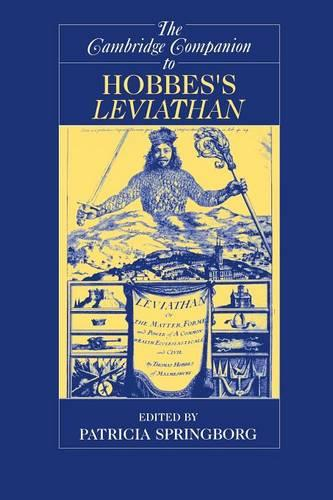 The Cambridge Companion to Hobbes's Leviathan - Cambridge Companions to Philosophy (Paperback)