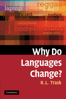 Why Do Languages Change? (Paperback)