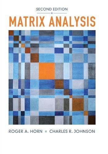 Matrix Analysis (Paperback)