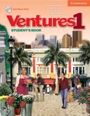 Ventures Level 1 Student's Book with Audio CD: No. 1 - Ventures