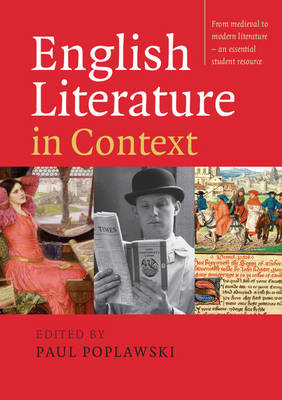 English Literature in Context (Paperback)
