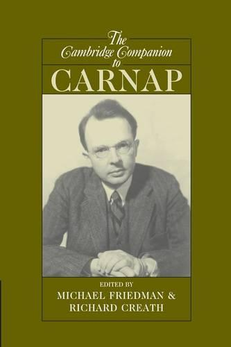 The Cambridge Companion to Carnap - Cambridge Companions to Philosophy (Paperback)