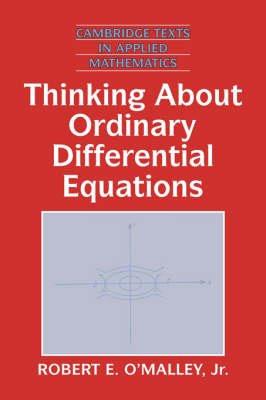 Thinking about Ordinary Differential Equations - Cambridge Texts in Applied Mathematics 18 (Hardback)