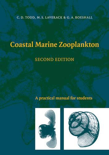 Coastal Marine Zooplankton: A Practical Manual for Students (Paperback)